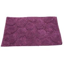 Castle 100% Cotton Palm Spray Latex Back Bath Rug