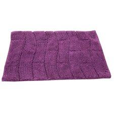 Castle 100% Cotton New Tile Spray Latex Back Bath Rug