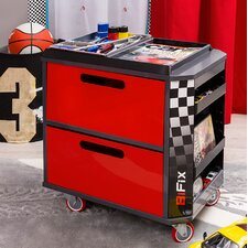 Champion GTI Racer Personalized Toy Storage Box