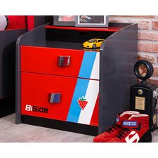 Champion GTI Racer 2 Drawer Nightstand