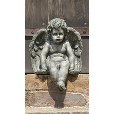 Sitting Medium Cherub Statue