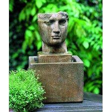Garden Terrace Cast Stone Cara Classica Fountain