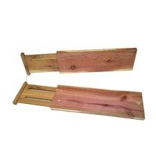 Cedar Dresser Drawer Divider (Set of 2)