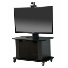 Mobile Cart with Single Monitor Mount
