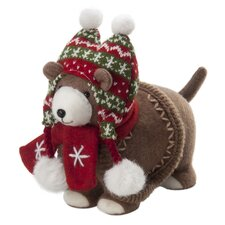 "9"" Rovette Dog Plush Figurine"