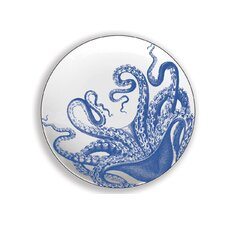 """Lucy 6.25"""" Melamine Appetizer Plate (Set of 4)"""