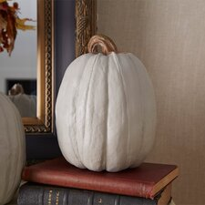 Ivory Pumpkin Sculpture