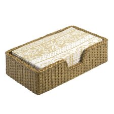 Weave Guest Towel Caddy Basket