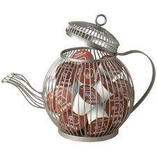 Wire Teapot K Cup Pod Holder