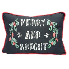 Merry and Bight Cotton Throw Pillow