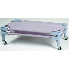 Stackable Toddler Cot with Casters