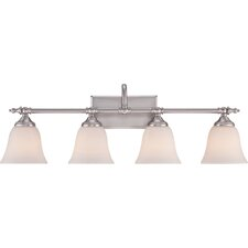 4 Light Bath Vanity Light