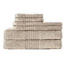 Dream Castle Cotton Mosaic 6 Piece Towel Set