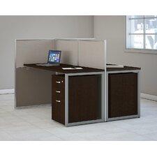 Easy Office 2 Piece Standard Desk Office Suite
