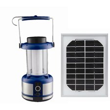 2-in-1 Solar Bright LED Emergency Camping Portable Lantern