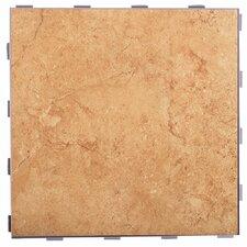 """Classic ThinLine 12"""" x 12"""" Porcelain Field Tile in Mocha"""