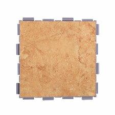 """Classic Standard 6"""" x 6"""" Porcelain Field Tile in Mocha"""