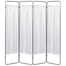 "68"" x 54"" Economy Folding Screen Frame 4 Panel Room Divider"