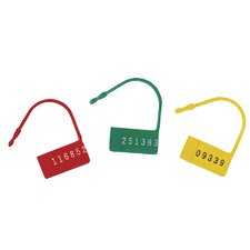 Safety Contol Seals with Numbers (100 Pack)