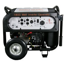 7800 Watt Industrial Digital Gas Powered Inverter Generator