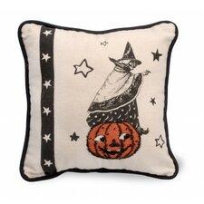 Witch Halloween Throw Pillow