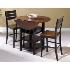 Casual 3 Piece Table Dining Set