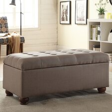 Upholstered Storage Entryway Bench