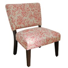 Accent Chair in Salmon