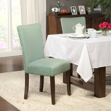 Upholstered Parsons Chair (Set of 2)