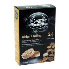 Alder Flavor Bisquettes (Set of 24)