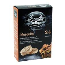 Mesquite Flavor Bisquettes (Set of 24)