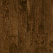 "Highgrove Manor 5"" Solid Maple Hardwood Flooring in Chocolate Frost"