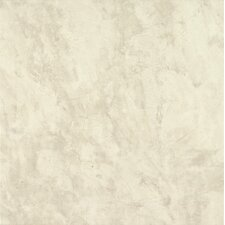 "Alterna Sistine 16"" x 16"" Luxury Vinyl Tile in White"