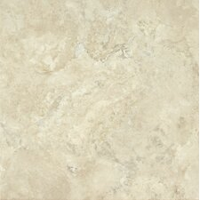 "Alterna Durango 16"" x 16"" Luxury Vinyl Tile in Cream"