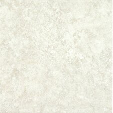 "Alterna Multistone 16"" x 16"" Luxury Vinyl Tile in White"