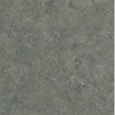 "Alterna Multistone 16"" x 16"" Luxury Vinyl Tile in Slate Blue"