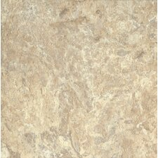 "Alterna North Terrace 16"" x 16"" Luxury Vinyl Tile in Beige/Taupe"