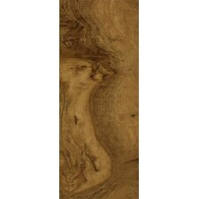 "Luxe Kingston Walnut 6"" x 48"" x 4.06mm Luxury Vinyl Plank in Henna"