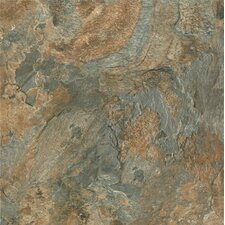"Alterna Mesa Stone 16"" x 16"" Luxury Vinyl Tile in Canyon Sun"