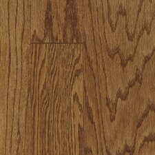 "Fifth Avenue Plank 3"" Engineered Red Oak Hardwood Flooring in Sable"