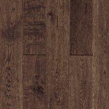 Gatsby Random Width Solid White Oak Hardwood Flooring in Vintage Brown
