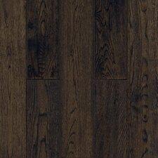 Gatsby Random Width Solid White Oak Hardwood Flooring in Tudor Brown