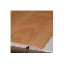 """0.75"""" x 2.25"""" x 78"""" White Oak Overlap Reducer in Seashell"""