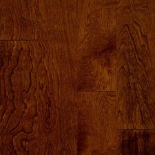 "Turlington Signature Series 5"" Engineered Birch Hardwood Flooring in Glazed Rust Red"