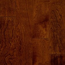 "Turlington Signature Series 3"" Engineered Birch Hardwood Flooring in Glazed Rust Red"