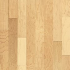 """Natural Choice 2-1/4"""" Solid Maple Hardwood Flooring in Natural"""