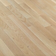 "Fulton 3-1/4"" Solid White Oak Hardwood Flooring in Winter White"