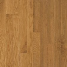 "Waltham Plank 3-1/4"" Solid Oak Hardwood Flooring in Cornsilk"