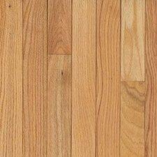 "Waltham Strip 2-1/4"" Solid Oak Hardwood Flooring in Natural"
