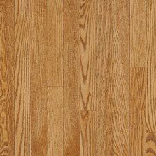 "Dundee 3-1/4"" Solid White Oak Hardwood Flooring in Spice"